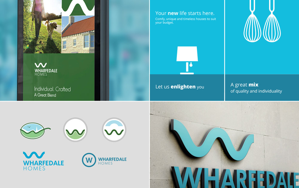 Wharfedale Homes - early brand concepts