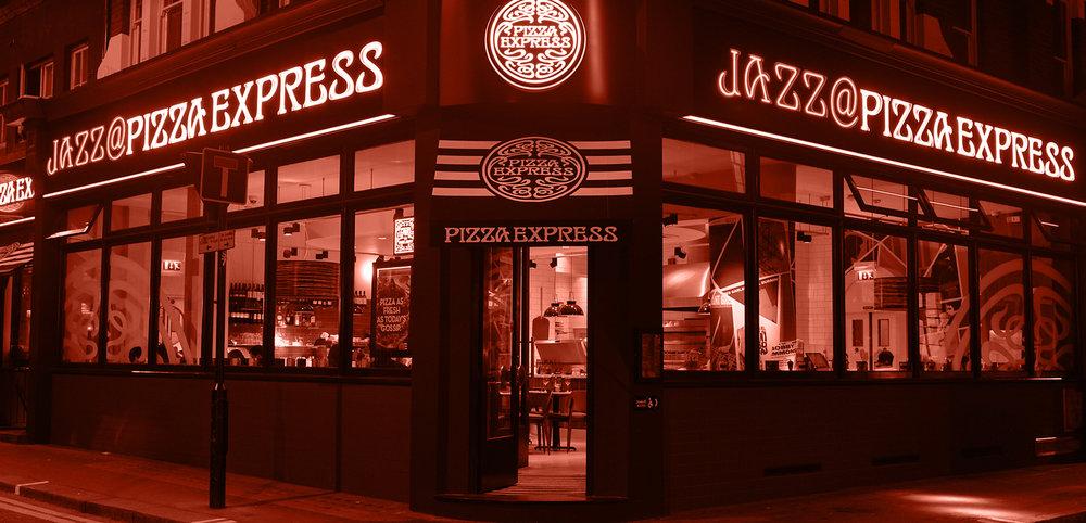 PizzaExpress Live banner