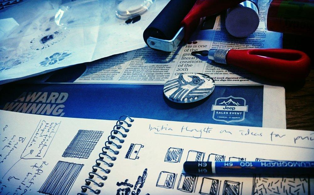 working on Luscinia branding