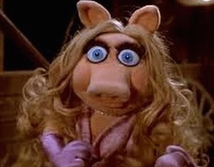 Miss Piggy on crack - ME!