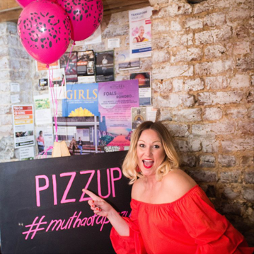 Lorna is the Queen of the Pizzup events in London and she calls all types of mamas to come join her!