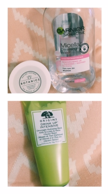 I do love me bit of Origins and i'm trying the avocado mask at night which is really creamy and has a luxurious feel.
