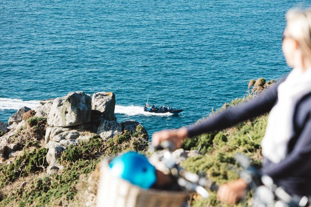 RIB Boat Trip North Coast Jersey