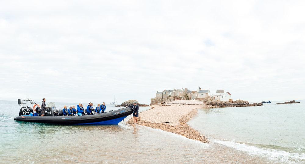Ecrehous RIB boat trip