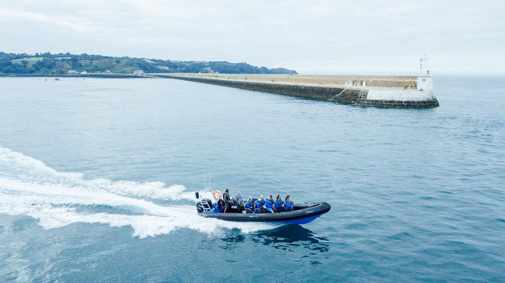 Jersey RIB boat trip