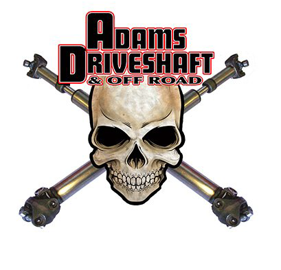 Adams Driveshaft and Off-Road Link:http://www.adamsdriveshaftoffroad.com/ Adam's Driveshaft & Off Road was founded in 1996 in Henderson, Nevada by two best friends who met in kindergarten. James Adams is the president and runs the day to day operations. He has over 35 years experience as a Drivetrain Specialist. He worked at Driveline Service of Las Vegas for 15 Years before starting his own business. His partner chose a little different path going through college and getting his MBA.