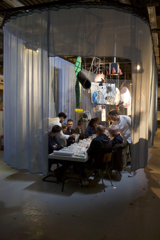 Dinner during DDW 2017, Sectie-C Eindhoven (foto: Adriaan de Man)