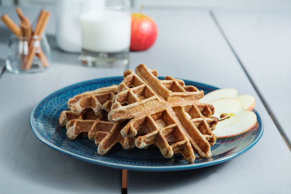 Apple Cinnamon Waffles, High Protein Waffles, Healthy Breakfast, Convenient Healthy Breakfast, High Protein Frozen Breakfast, Gluten Free Waffles, Healthy Frozen Waffles