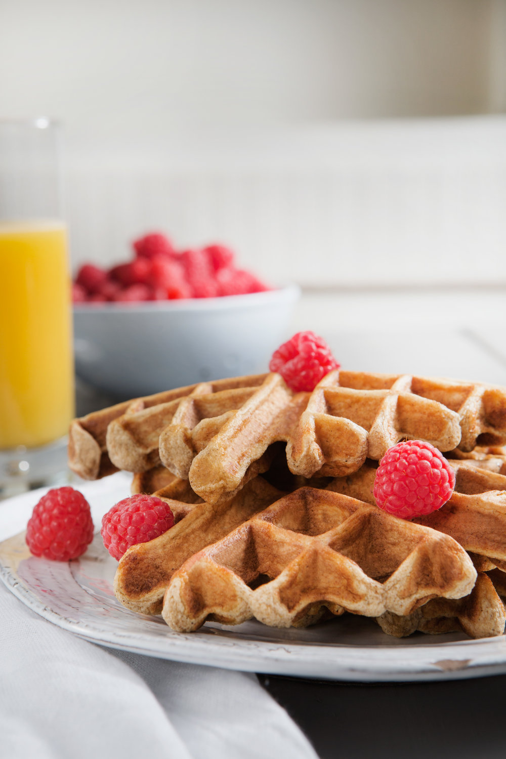 High-Protein Belgian Waffles