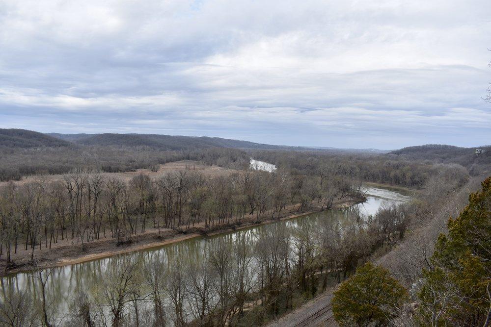 Castlewood River Scene Trail River