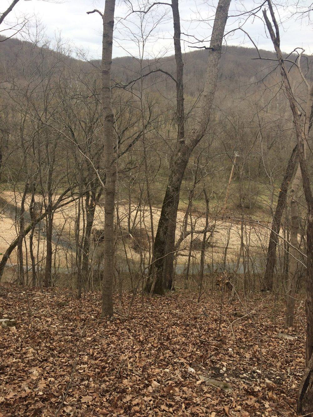 Castlewood State Park River Scene Trail