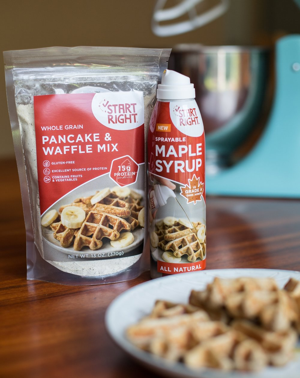 High Protein Waffles, high protein waffle mix, sprayable maple syrup, maple syrup, pure maple syrup, gluten free waffle mix, gluten free, gluten free pancakes