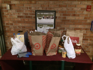 Bonus!At the town hall they were collecting food for a charity called VEAP— Neighbors Serving Neighbors in Need. I didn't have any food on me, but I'm going to donate to them.