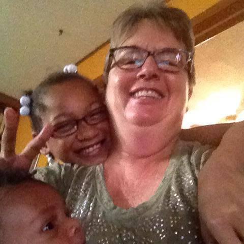 Grandma Ann and two of her grandkids!