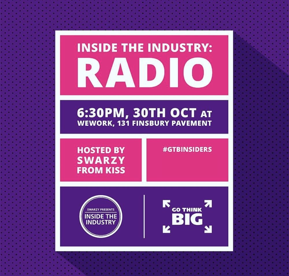 KISS And Tell: A night dedicated to exploring the Radio industry with special guests from KISS FM. -