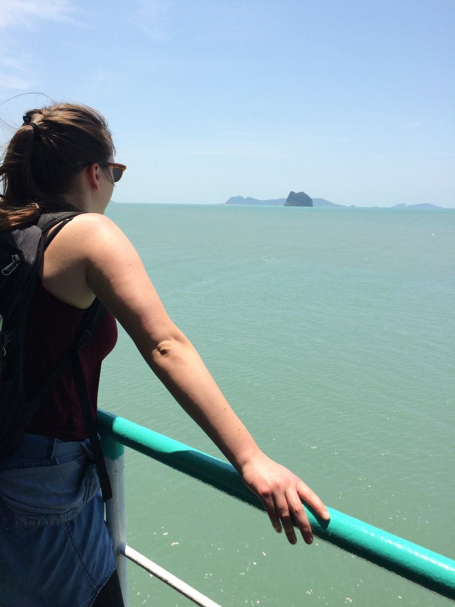 Oh, and if you are wondering - this photo was taken on a boat en route to Ko Pha Ngan in southern Thailand.