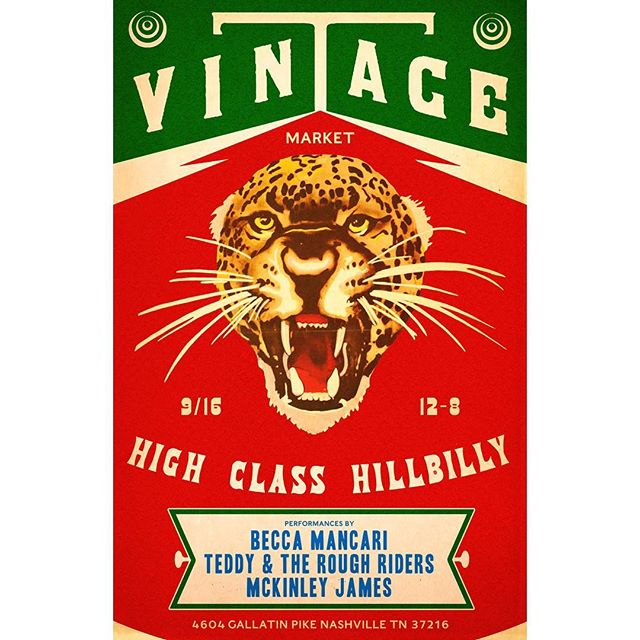 One more friendly reminder that we have gathered some fine vintage dealers as well as @beccamancari @teddyandtheroughriders @mckinley_james for tomorrow's @hchvintage vintage market 12-8 in the backyard of the shop. If you're in town visiting for Americana this would be a great time to see what we're all about!