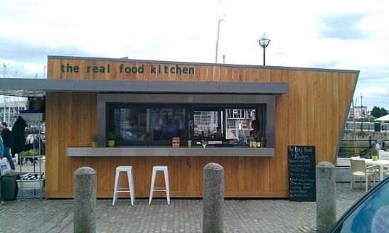 THE REAL FOOD KITCHEN - Overlooking the Harbour, near the Mayflower steps, this contemporary cafe provides an array of delights. Priding themselves on only using fresh ingredients, there's something to suit any discerning palate. From their infamous rosti with sumptuous toppings to their local pulled pork sandwich, all washed down with local roasted coffee, smoothies or from their licensed bar - what's not to love?07889460846