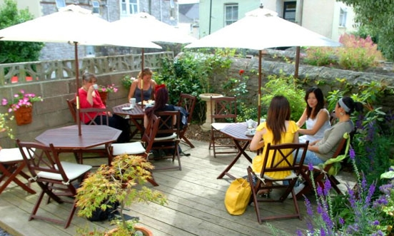 THE WORLD PEACE CAFE - The World Peace Cafe provides delicious, nutritious food for the body and mind. Paninis, soups, burgers, pizza, cakes and more - all veggie with vegan options and always made with love! Pssst, to help with concentration and relaxation why not check out the mindfulness and meditation classes at Ashoka Buddhist Centre next door.01752 224137