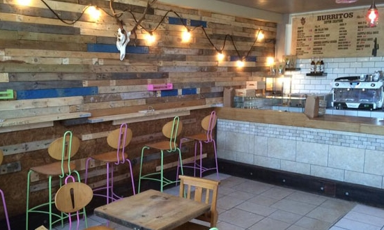 BAR BURRITOS - Street food comes to Plymouth with this funky fresh establishment on the waterfront. Burritos with 10 ( weak - insane) sauces to choose from, accompanied by quality teas and coffees, soft drinks, craft beers and premium cocktails.Only £8.50 for a beer and a burrito.01752 254254