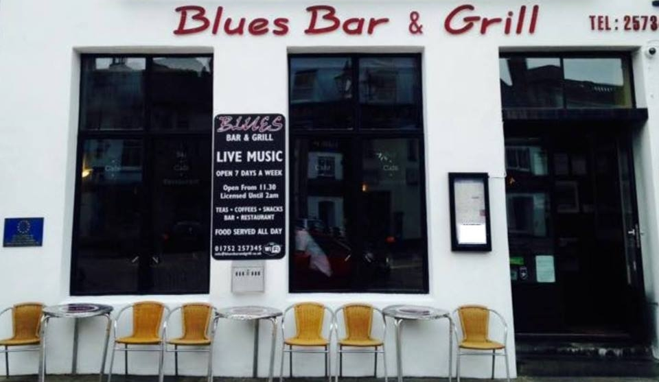 BARBICAN BLUES BAR - A family run restaurant with the same owners for over 10 years. The essential haunt for those who love blues music, good food and a great atmosphere. The Blues Bar & Grill combines a bar, cafe, restaurant and a live music venue all in one, so whether you're wining, dining, doing lunch or just out for the night it's the place to go. Excellent views over Plymouth Harbour.01752 257345