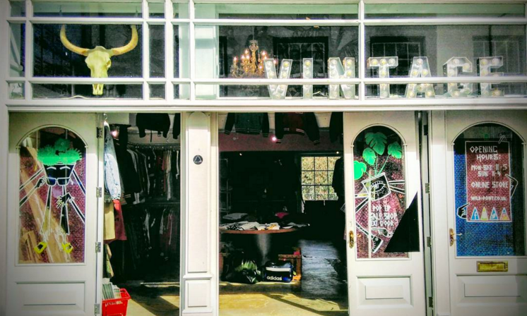 WILD PONY - Cool clothing for hip boys & girls! Stockists of newly tailored classics, brands such as Brixton, The Quiet Life & Herschel as well as American vintage and reworked vintage items, faux furs and sneaks. Pop up sale shop located next door full of fantastic vintage bargains.01326 618085