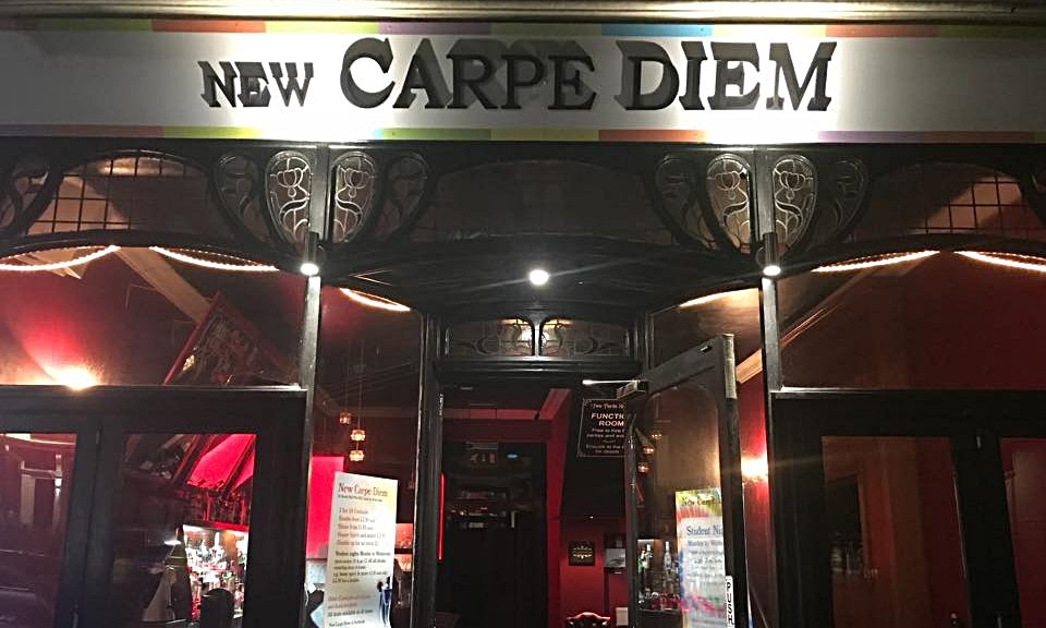 NEW CARPE DIEM - A cocktail bar with a great range of drinks including shots and bombs, cocktails as little as 2 for £6 in a fun place to meet your friends, with drinks to suit every taste and prices to suit every pocket.01752 252492