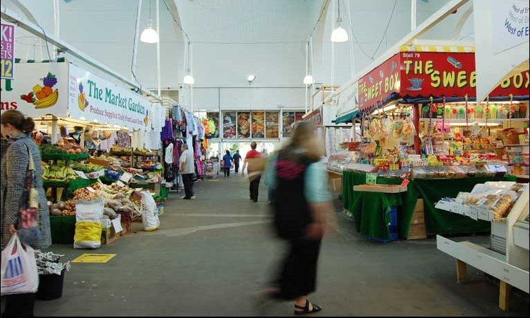 PLYMOUTH CITY MARKET - The city's oldest and biggest indoor market has over 100 stalls selling everything you need! From clothing to jewellery, delicious food to a refreshing cup of tea and everything in-between. Call in, you just might surprise yourself with what you find.