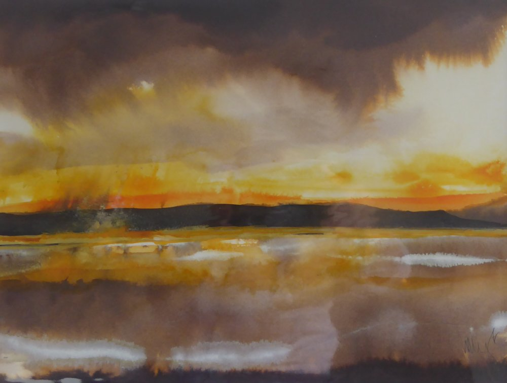 Sunrise, River Brue