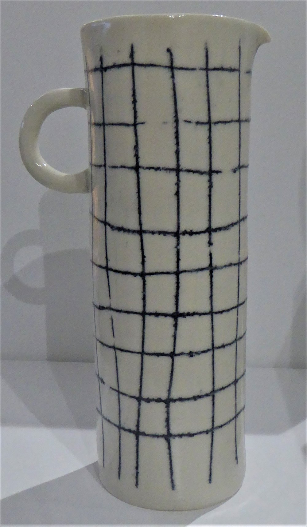 Tall Criss Cross Jug