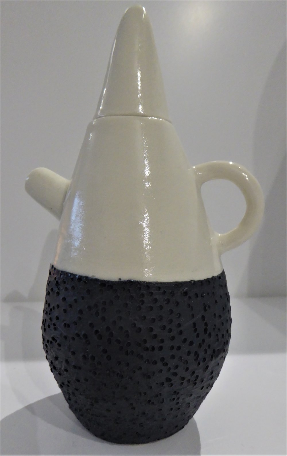 Blue/White Tea Pot