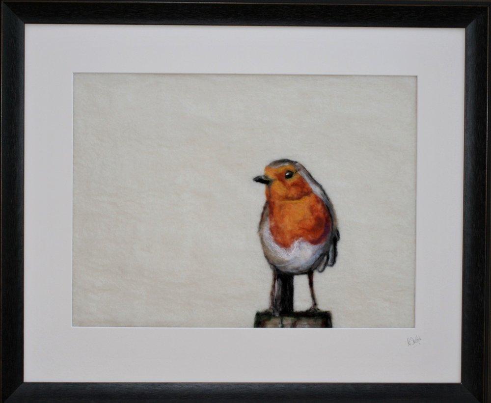 Felt Painting  60cm x 50cm (framed)  £325
