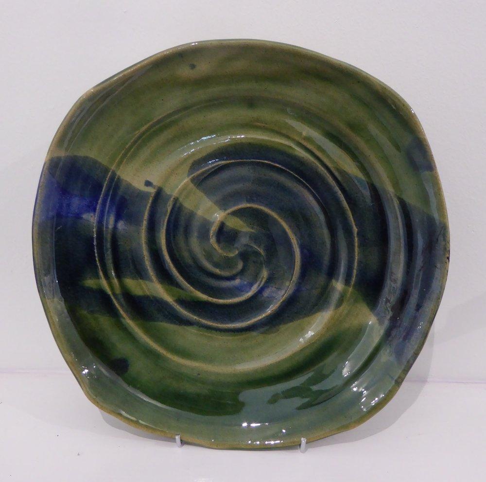 Ceramics  28cm diameter  £25