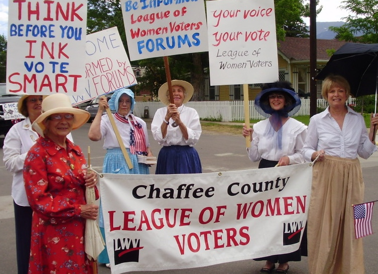 League of Women Voters -