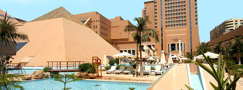 Golden Pyramids Plaza