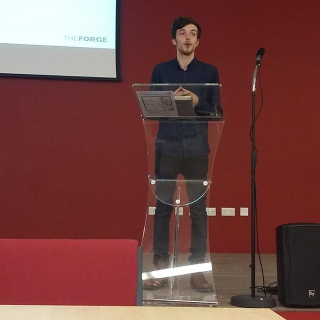 We had a lot of fun speaking at the national careers service enterprise event! #bignastystudios #sme #event #talk #speech #enterprise #business #university #durham #forge
