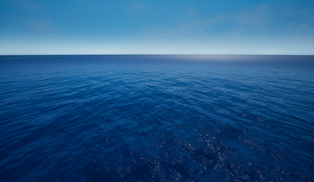Fig 1: Mobile Compatible Open Ocean World