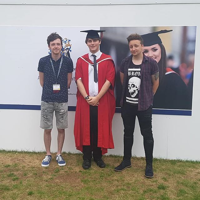 A HUGE congratulations to our managing director Jack for absolutely smashing his master's degree with first class honours!  Here's to a bright future working with a great mind within Big Nasty Studios!  Enjoy your day Jack, well deserved! , , , , , , #graduate2018 #graduation #university #master #degree #teesside #uni #grad #firstclass #classof2018 #sme #devs #developers #graduates #graduatebusiness #bignastystudios #sme #enterprise #entrepeneurs