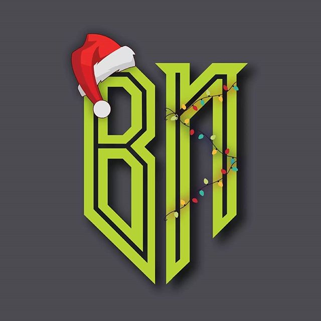Happy coincidence that our Christmas colour palette matches that of the Grinch! , , , , , , , , , , , #christmas #logo #seasonal #thegrinch #grinch #colour #bignastystudios