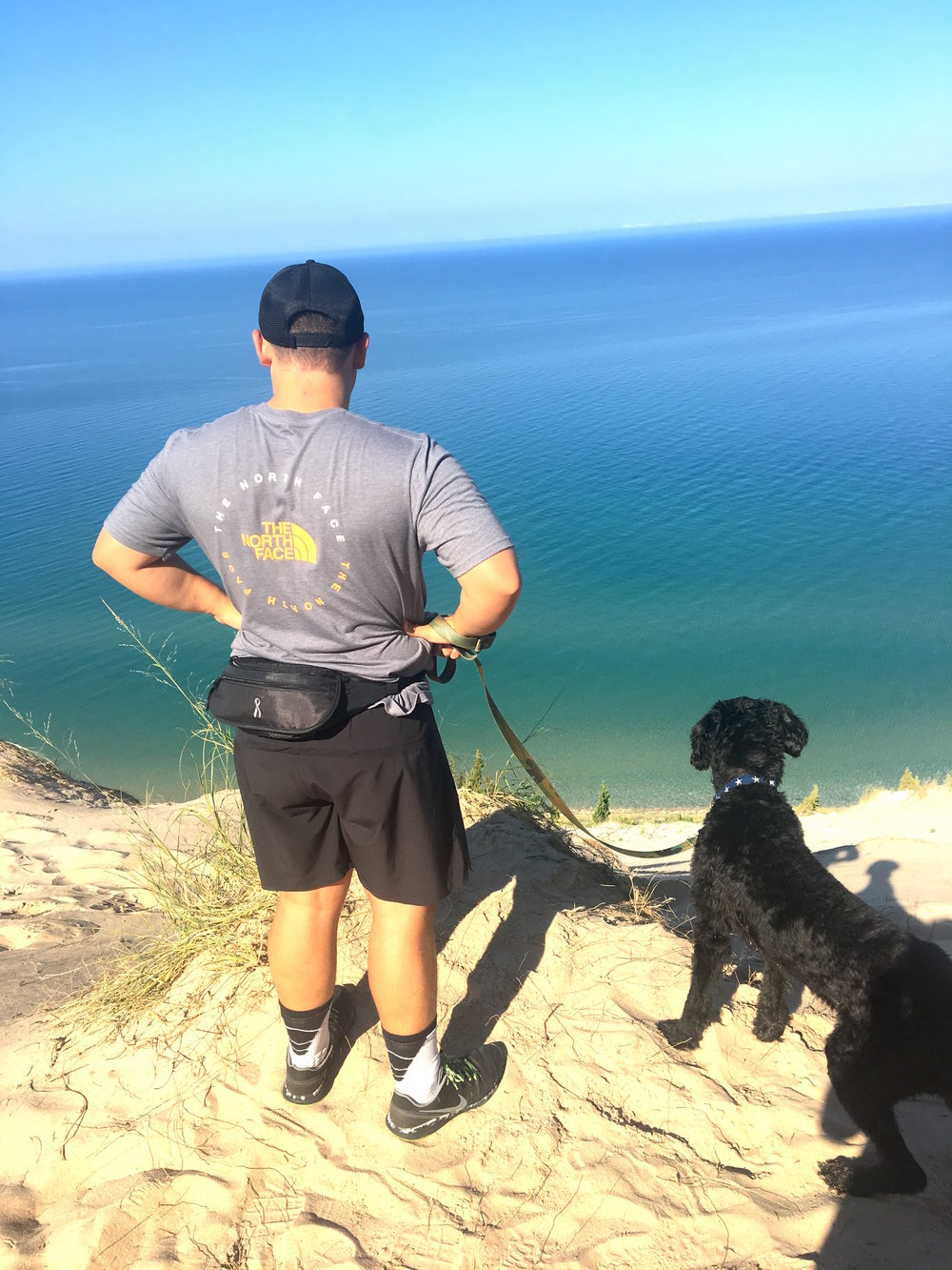 We also LOVE to find new trails that lead to amazing views. Michigan is amazing because you can hike dunes and woods in the same hike. I love the variety of scenery here!