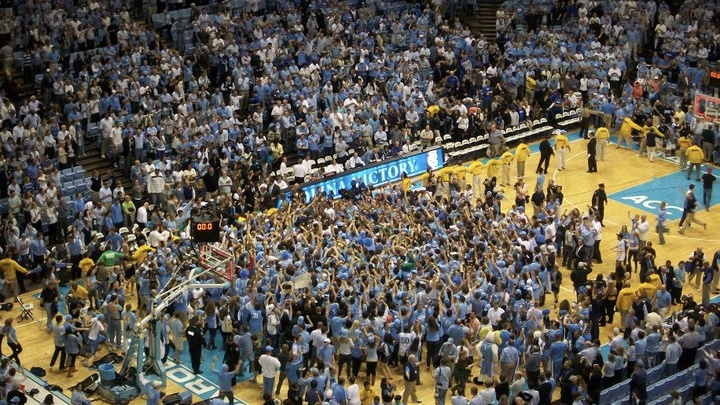 This is a photo I took while at my first ever UNC/Duke game in 2011. The Heels won 81-67 to claim the ACC Regular Season Championship.