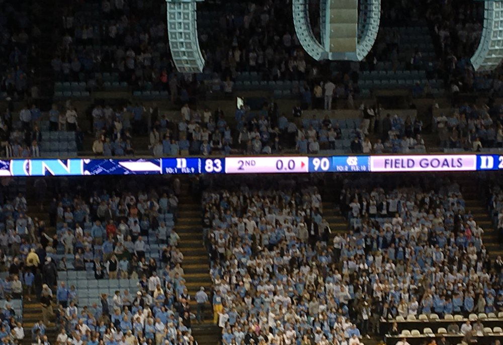 How Bout Them Tar Heels?!?