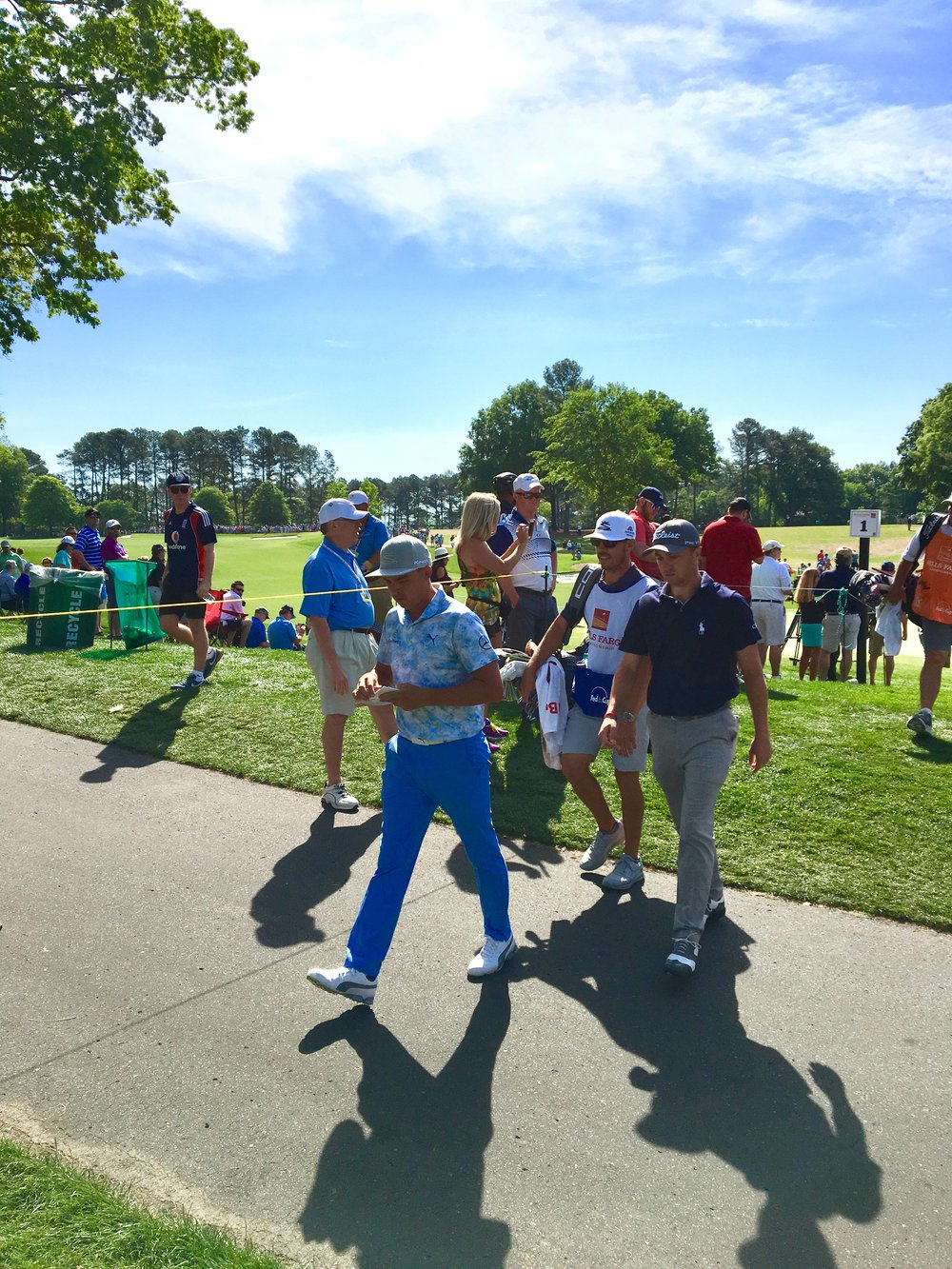 Rickie Fowler & Justin Thomas |  Photo: Chris White