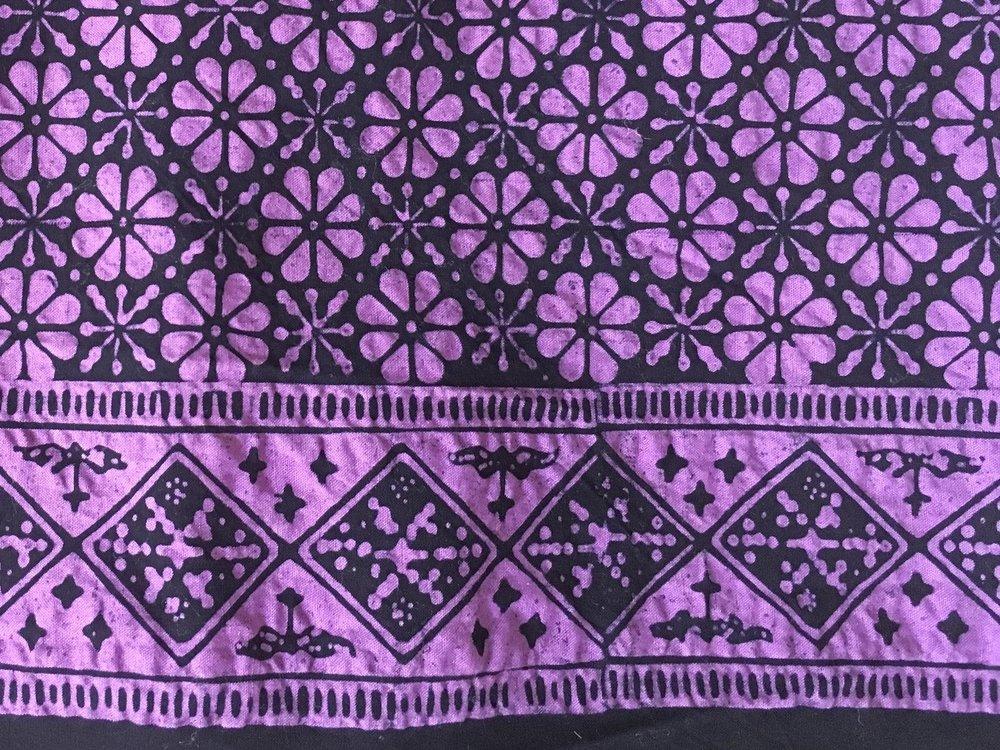 Batik samples, continued.