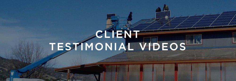 Client Testimonial Videos