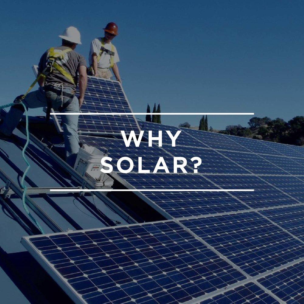 Residential: Why Solar?