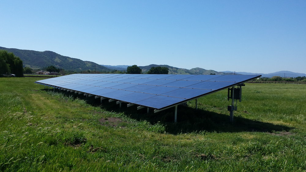 Solar Energy System - Ground Mounted