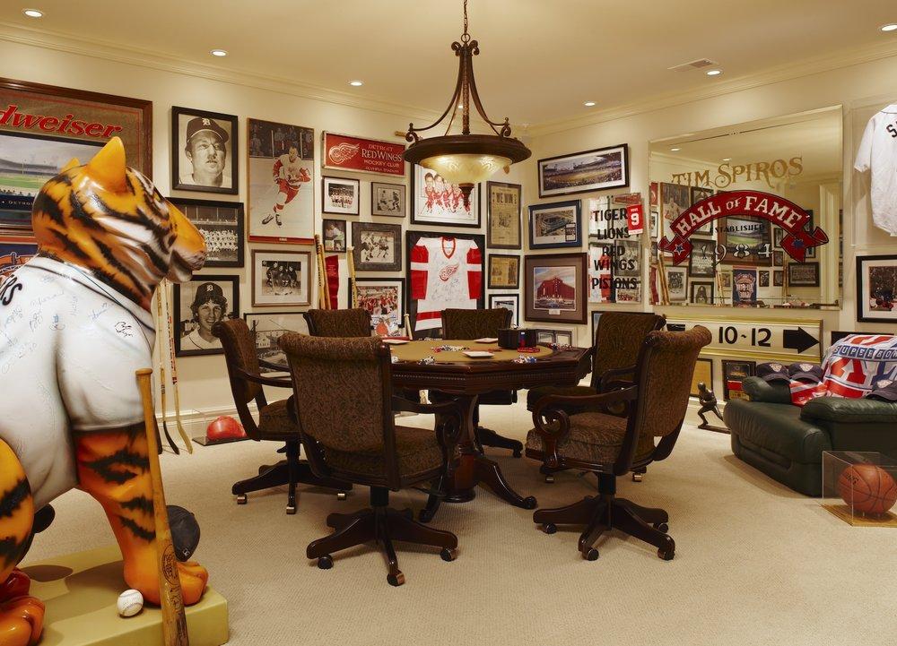 Man Cave — Memento from Detroit Tiger's Stadium