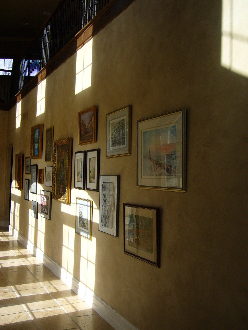 Hallway as Art Gallery