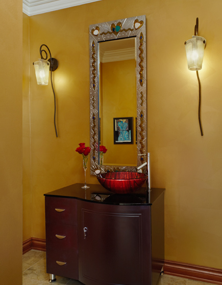 Whimsical Powder Room